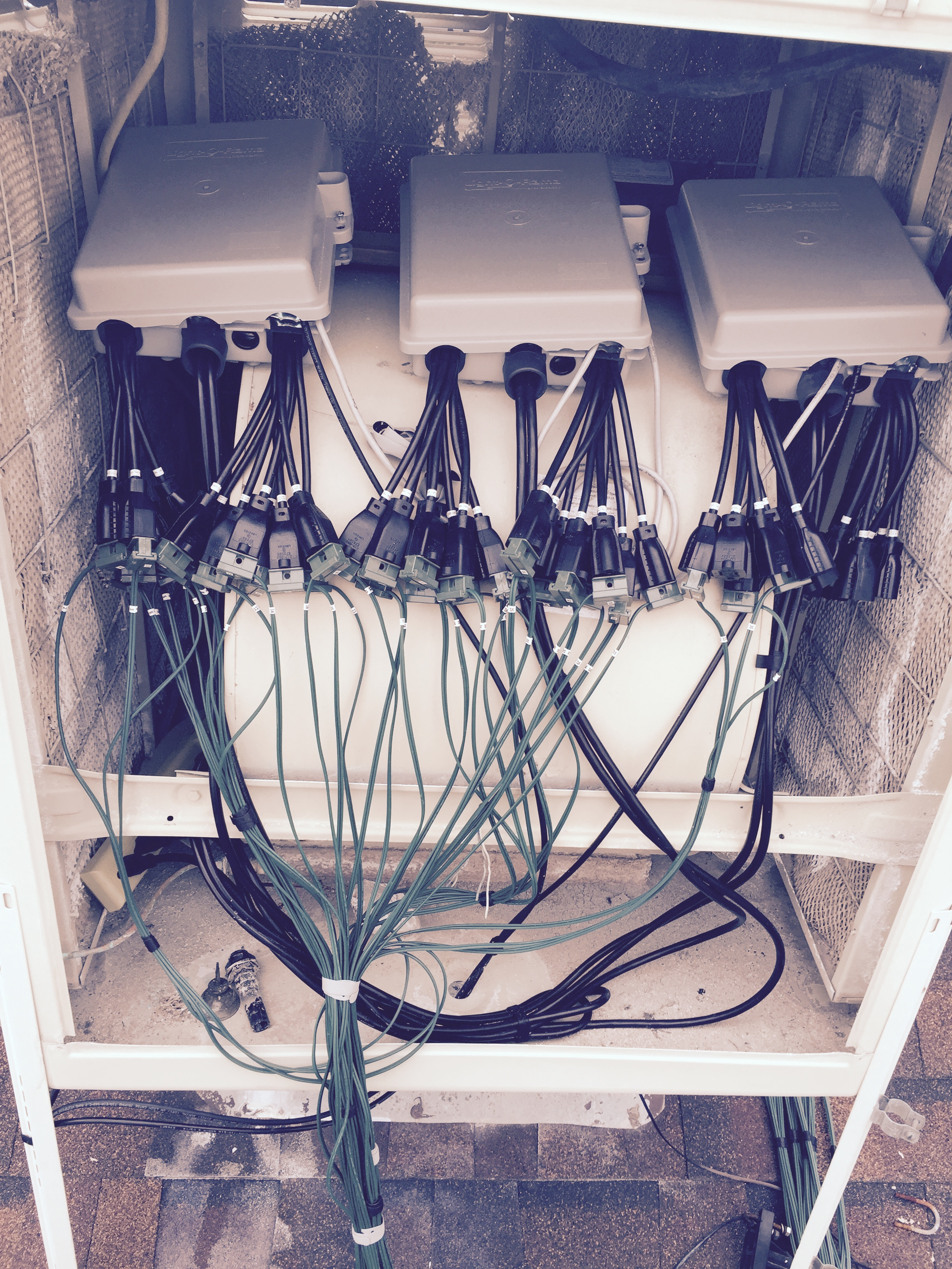 111b Wires to Swamp Cooler