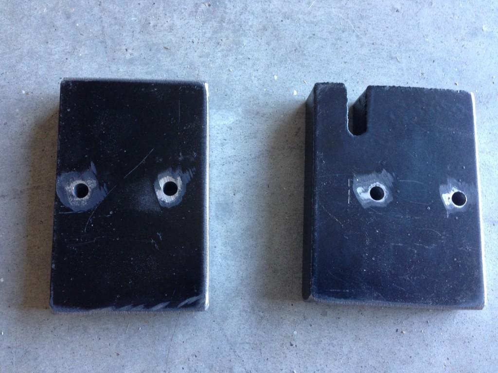 47 Steel Plate Holes