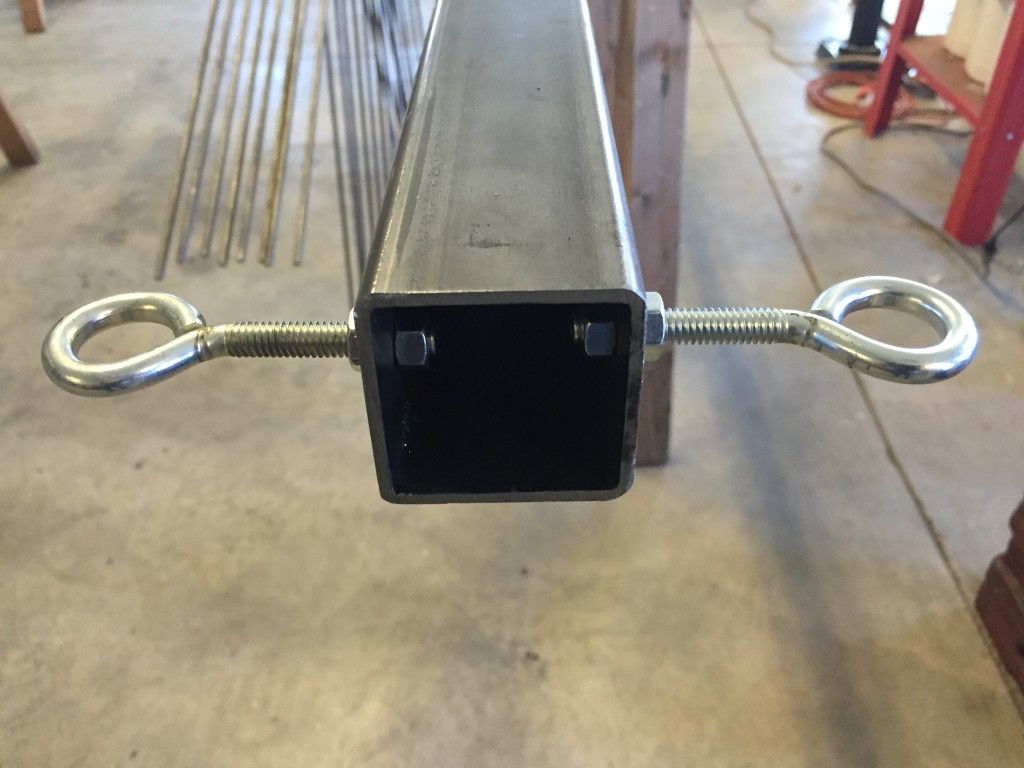 Top Pole Guy Wire Mounts